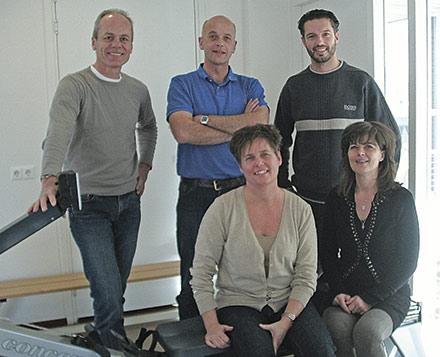 Fysiotherapie De Zorgmolen met Pim Zandwijk links.