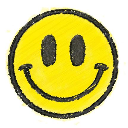 Smiley-kleurpotlood